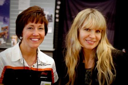 Leslie Prevish and Karen Davison