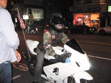 9/11 ride leader